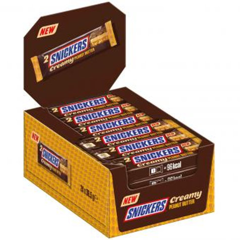 Snickers Creamy Peanut Butter 24x36,5g