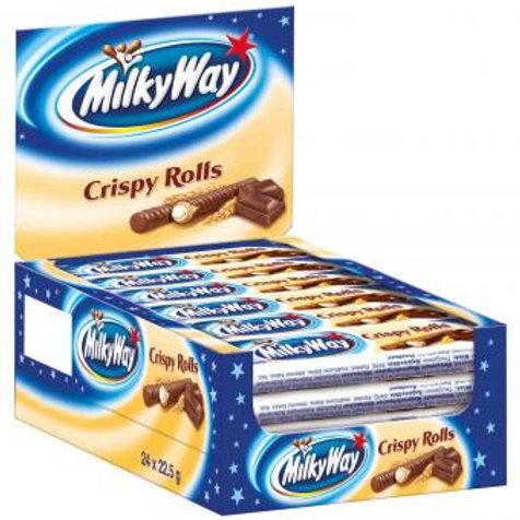 Milky Way Crispy Rolls 24x22,5g