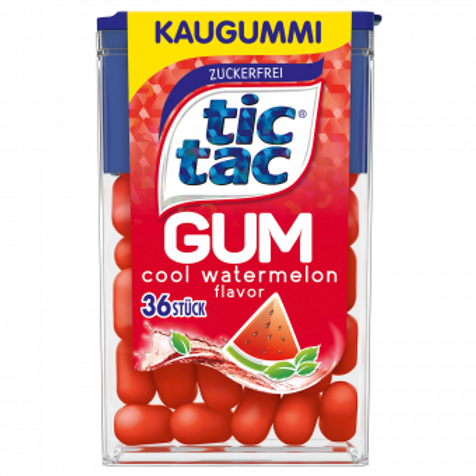 tic tac Gum cool watermelon 36er