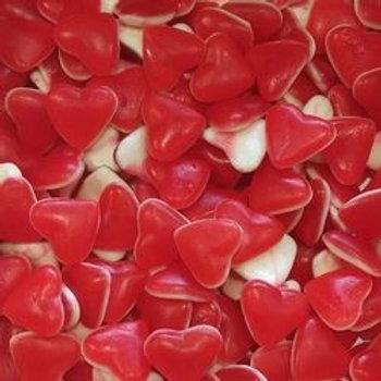 Herzen Rot/Weiss 1kg