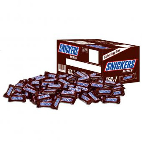 Snickers Minis 150pcs