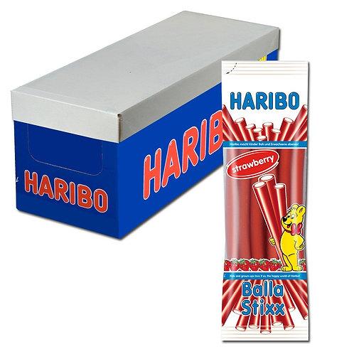 Haribo Balla Stixx Erdbeere, 15 Beutel je 200g