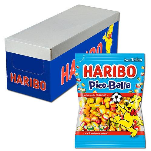 Haribo Pico-Balla, Fruchtgummi, 18 Beutel je 175g
