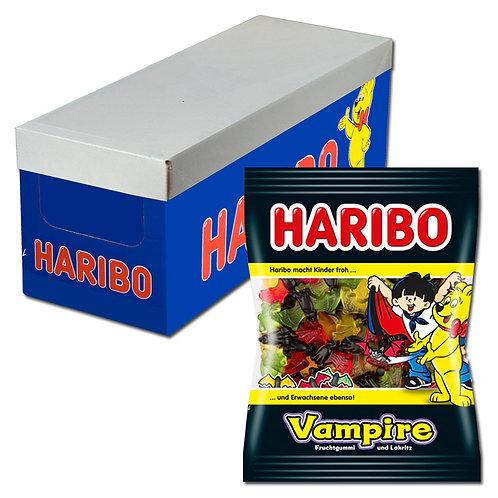 Haribo Vampire, Lakritz, 15 Beutel, 200g