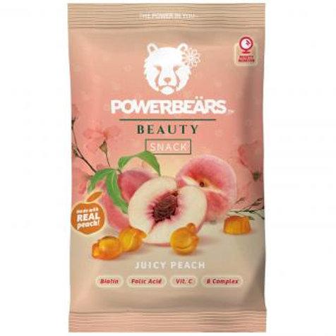 Powerbeärs Beauty Snack Juicy Peach 50g