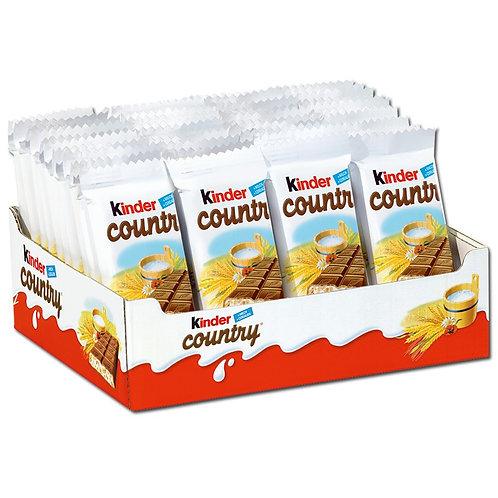 Ferrero Kinder Country, Riegel, Schokolade, 40 Riegel