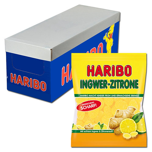 Haribo Ingwer-Zitrone 18x175g