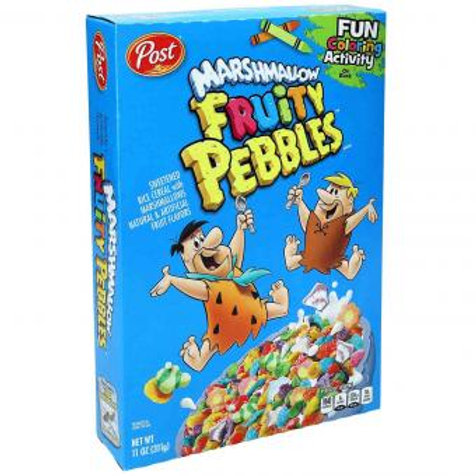 Post Fruity Pebbles Marshmallow 311g