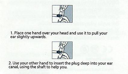 poblex çam tipi kulak tıkacı kullanım talimatı