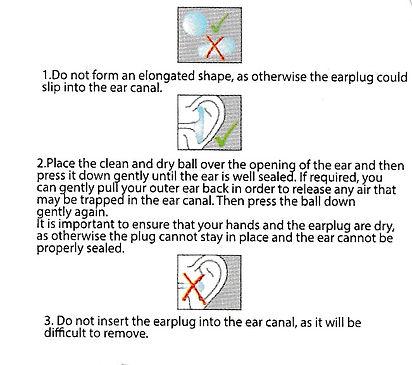 silikon kulak tıkacı kullanım talimatı