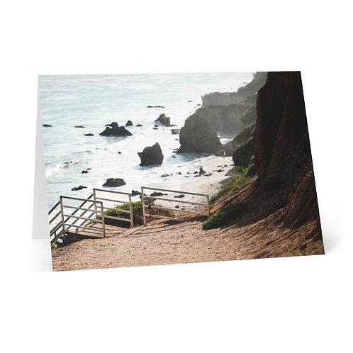 Greeting Cards (8 pcs): El Matador Beach, Malibu, CA
