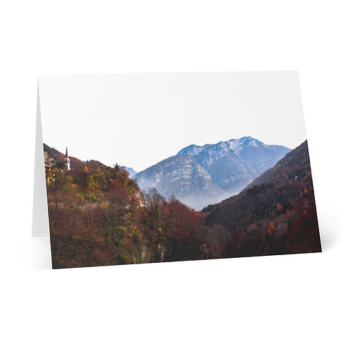 Greeting Cards (8 pcs): The Dolomites, Italy