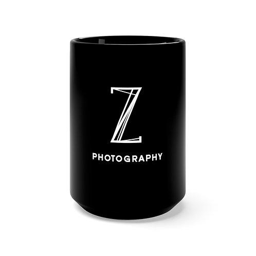Black Z Photography Mug 15oz