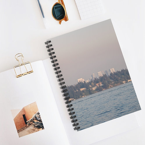 Seattle Spiral Notebook - Ruled Line