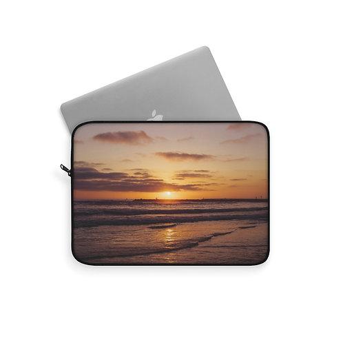 Beach Sunset Laptop Sleeve
