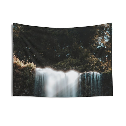 Waterfall Indoor Wall Tapestry