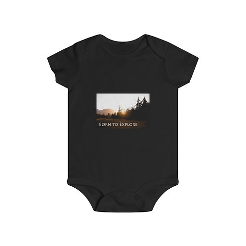 Born to Explore Infant Rip Snap Tee