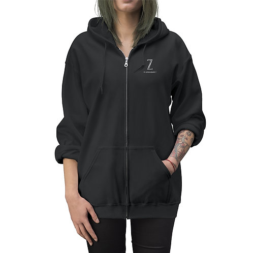 Unisex Z Photography Zip Up Hoodie
