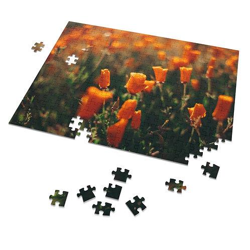 252 Piece Poppy Puzzle