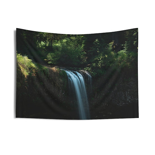 Silver Falls Indoor Wall Tapestry