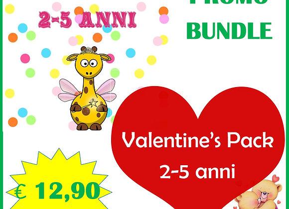 🎉BUNDLE Carnival & Valentine's 2-5 anni
