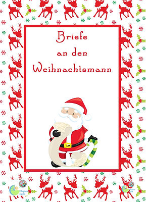 COVER Advent - Briefe an Weihnachtsmann.