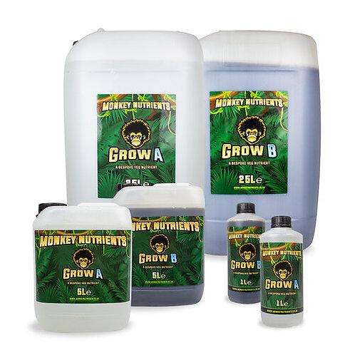 Monkey Nutrients - Grow AB