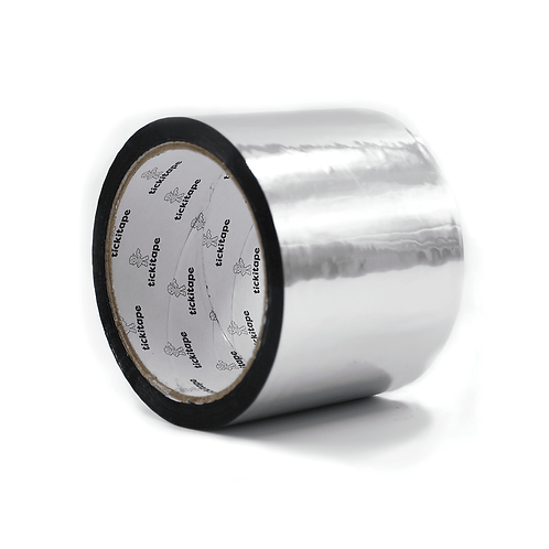 Tape Metallised Foil 75mm x 50mtr