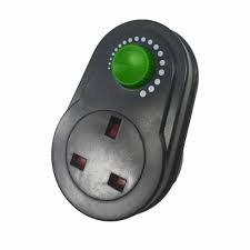 Plug In Fan Speed Dimmer (Max 300w)