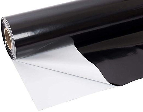 2m Wide - Black White Sheeting Thick