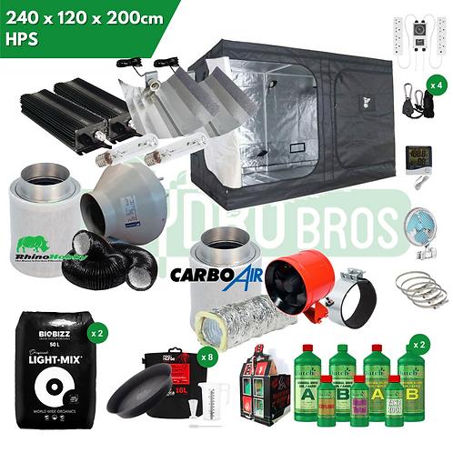 240 x 120 x 200 LED SF4000 Grow Kit