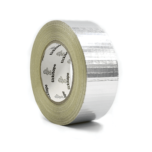 Tape Metallised X-weave 75mm x 45mtr