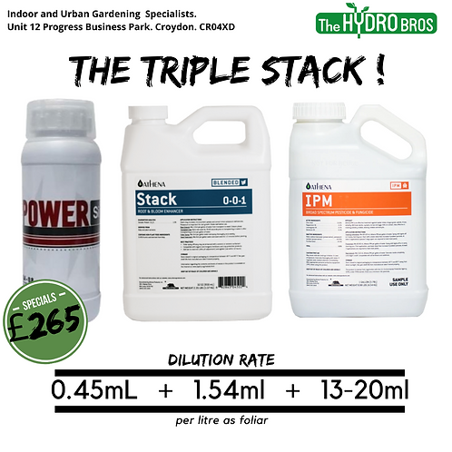 Athena Stack + IPM + Power Si Silicic Acid Silica