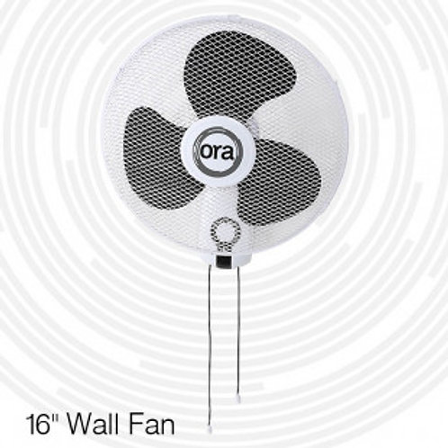 "Ora 16"" Oscillating Wall Fan"