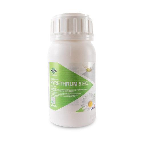 Pyrethrum 5EC Natural Organic Insecticide 250ml