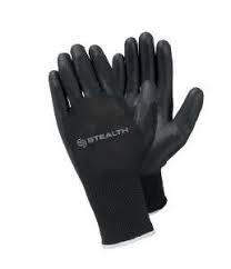 Black Stealth PU Gloves