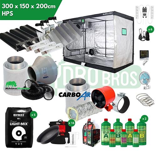 300 x 150 x 200 HPS Grow Kit
