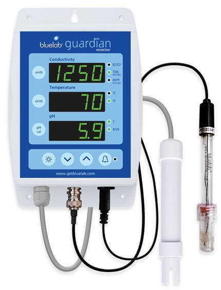 Bluelab Guardian pH, cF and Temperature Monitor