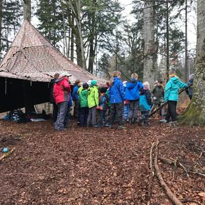 """Projektwoche: Workshop """"Natur pur-ab in den Wald"""""""