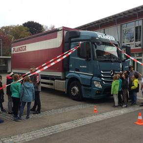 Aktionsmorgen «Toter Winkel bei Lastwagen»