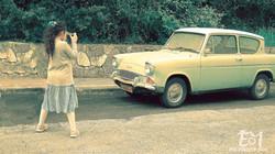 שושי מצלמת מכונית מראה עתיק+ לוגו (Large)