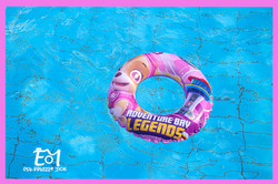 גלגל בבריכה + לוגו (Medium)