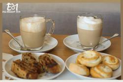 2 כוסות קפה + לוגו (Large)