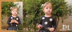 2 תמונות של אביגיל הבת של חדוה + לוגו (Medium)