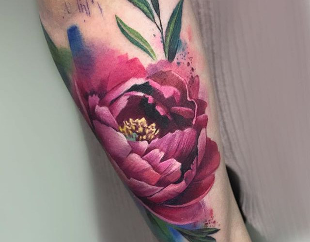 As far as we got today on Lucy's arm! So