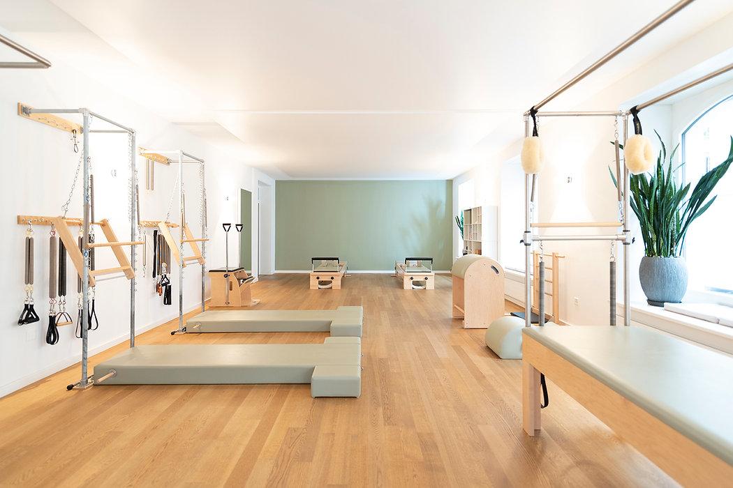 Pilateshaus_Zuerich_Studio_im Seefeld_Chair_Reformer_Barrel_Federn