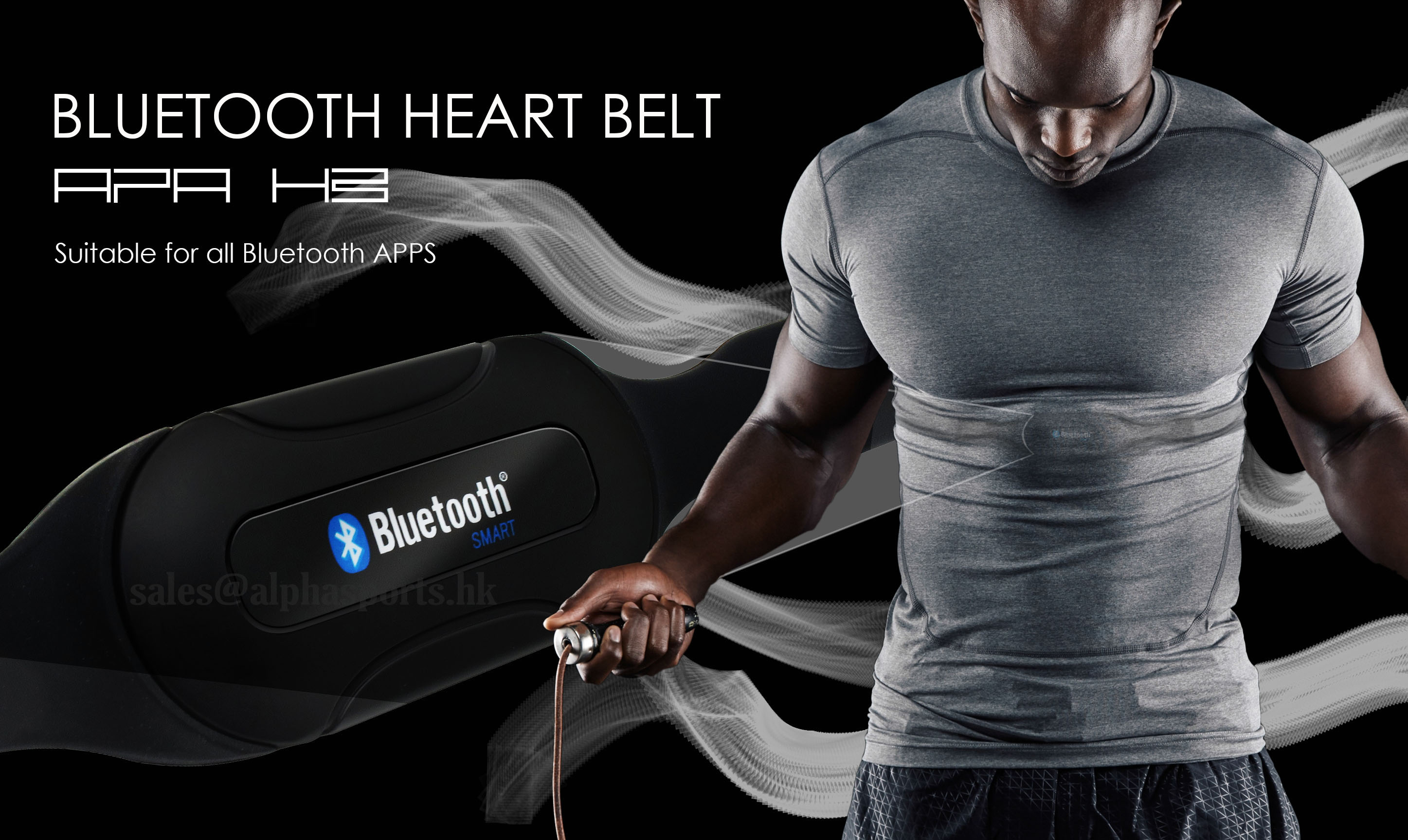 APA BLUETOOTH HEART RATE BELT