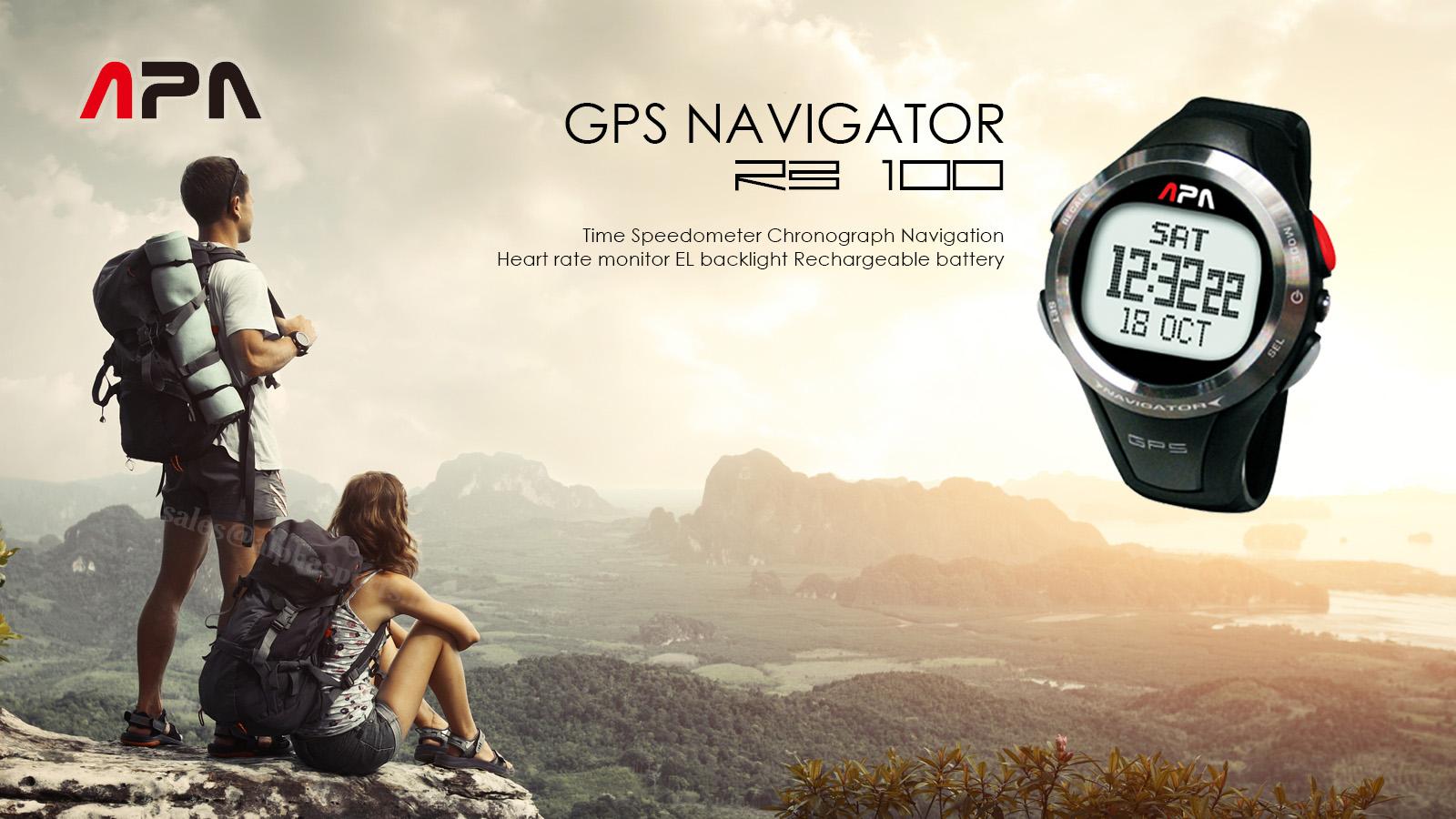 APA RB100 GPS NAVIGATOR