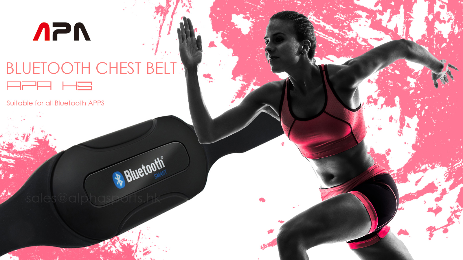 APA BLUETOOTH CHEST BELT