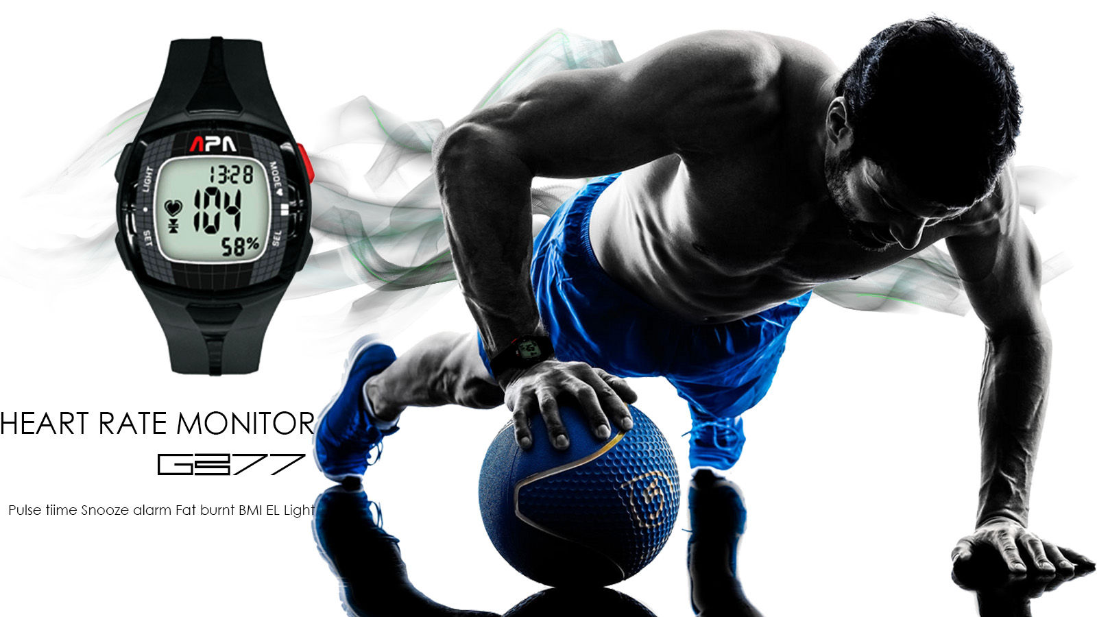 APA GB77 HEART RATE MONITOR